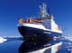 The Polarstern: on a mission to fertilize the ocean. AWI