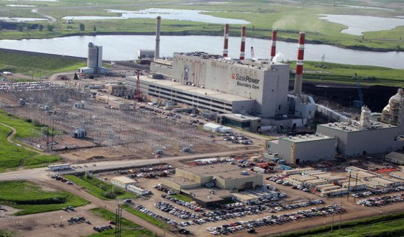 In the Canadian province of Saskatchewan, SaskPower's carbon capture coal power plant has begun. Day Donaldson under a Creative Commons Licence